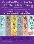 Feminist Dialogues: politiques publiques et l'action collective au Quebec et Ontario cover