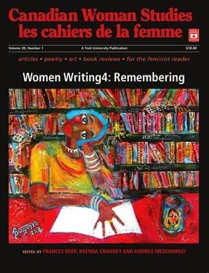 Canadian Women Studies cover