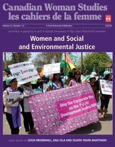 Women Social Environmental Justice-cws cover