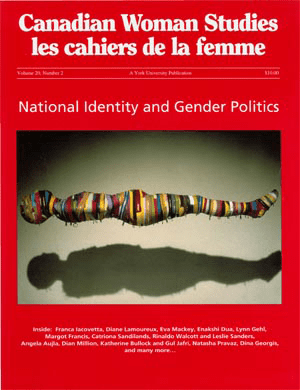 National Identity and Gender Politics cover