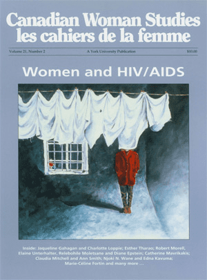Women and HIV/AIDS cover