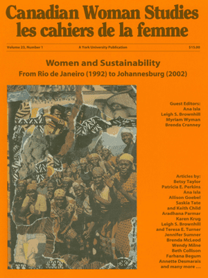 Women and Sustainability cover