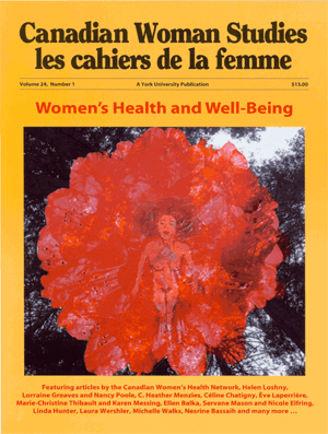 Women's Health and Well Being cover