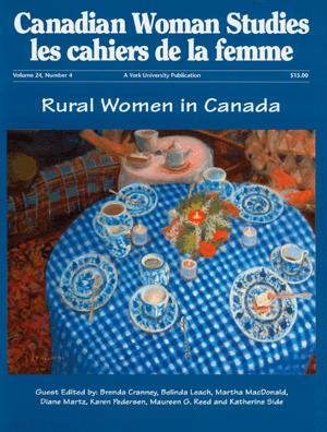 Rural Women in Canada cover