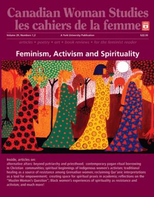 Feminisum, Activisum and Spirituality cover