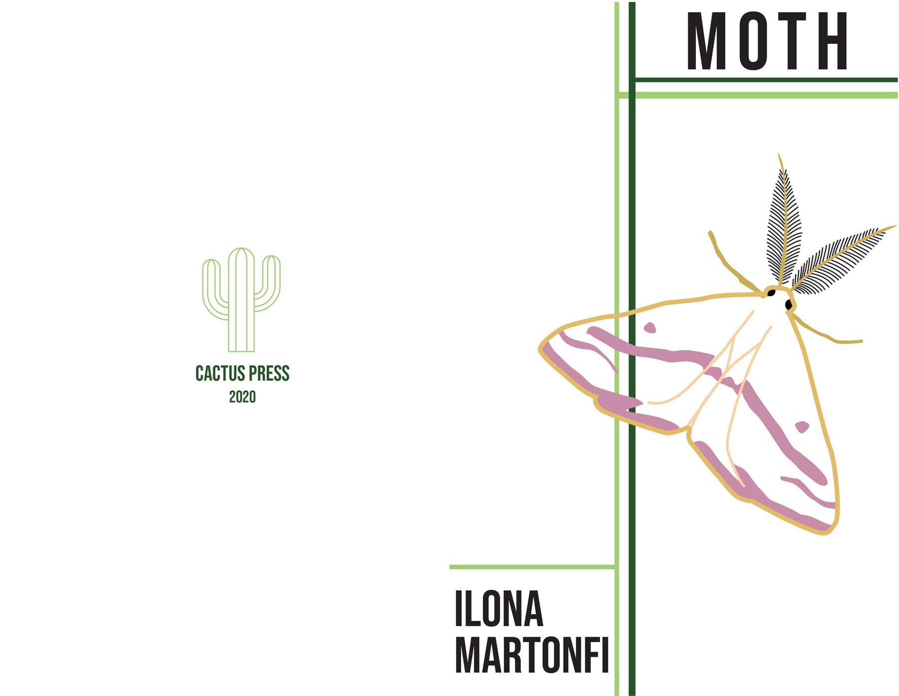 Ilona Martonfi's The Moth cover